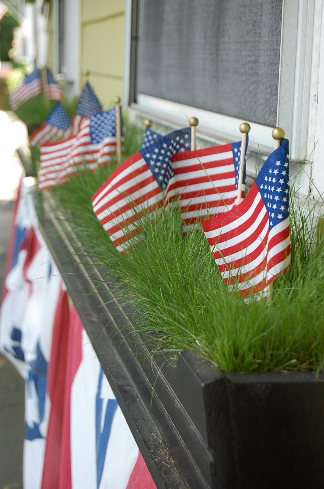 Chateau bungalow 4th of july decorations for Decoration 4 july