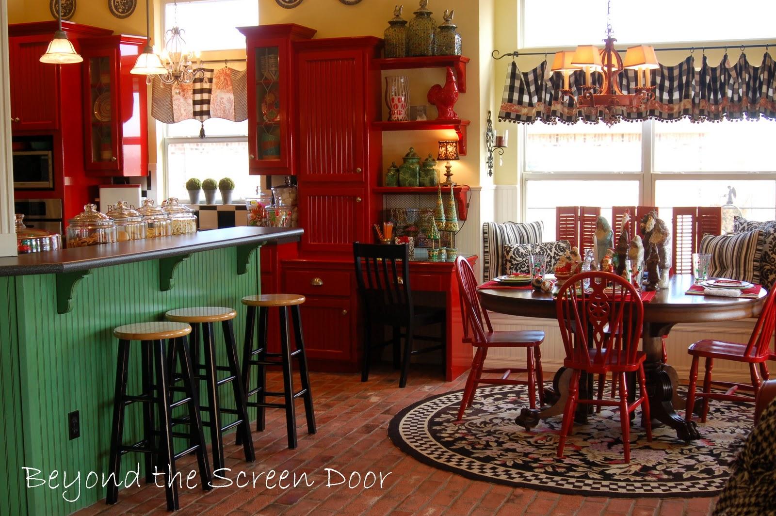 Christmas Home Tour Kitchen Sonya Hamilton Designs