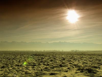 Fagaras-Winter scene