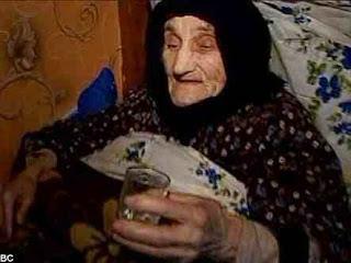 Antisa Khvichava adalah manusia tertua di dunia