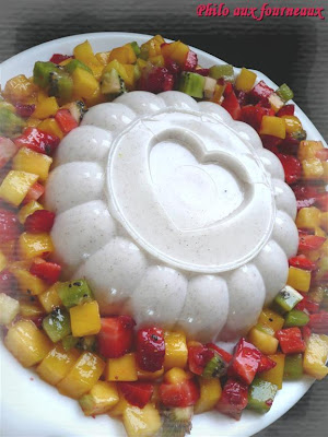 recettes dessert  Mhalabia: le blanc à manger