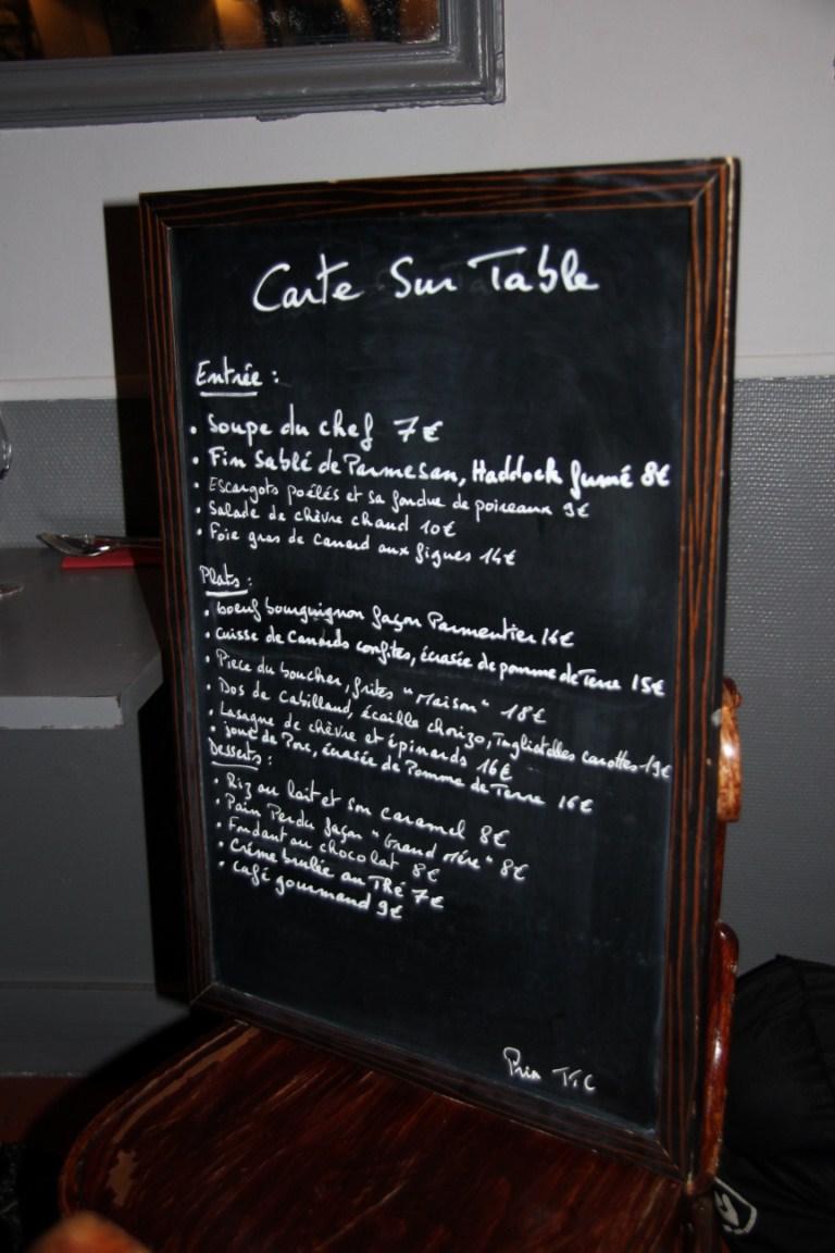 Philo aux fourneaux restaurant carte sur table paris - Restaurant carte sur table cavaillon ...