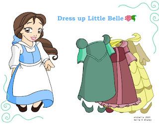 Vestir a la princesa Bella