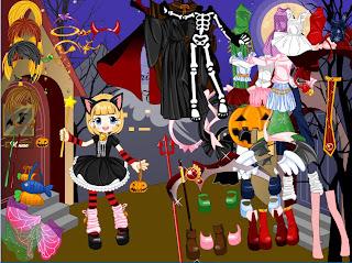 Juego de disfraces de Halloween