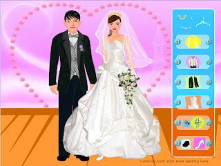 Vestir a los novios para la boda
