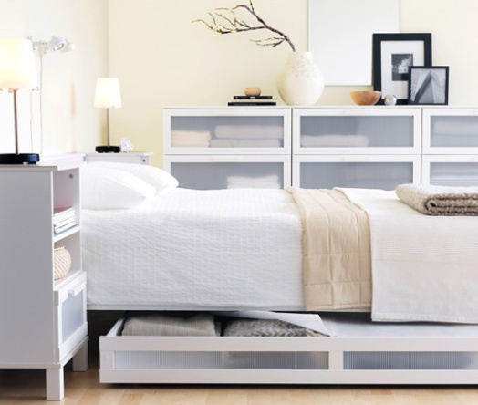 Modern Ikea Small Bedroom