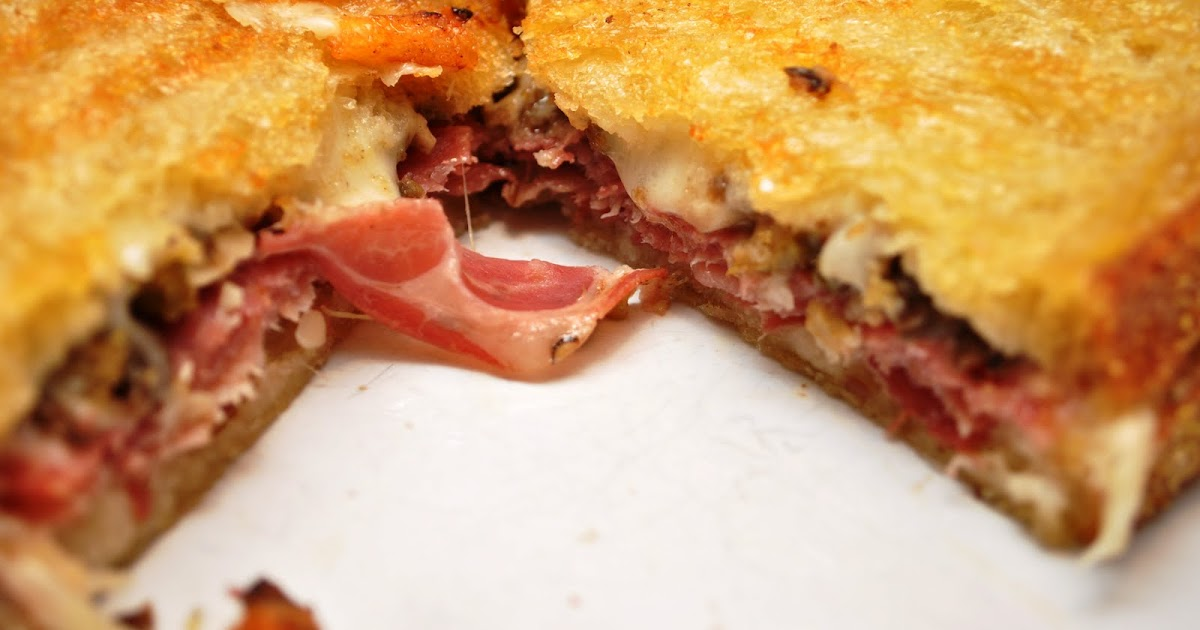 Kate's Kitchen: Muffaletta Sandwich