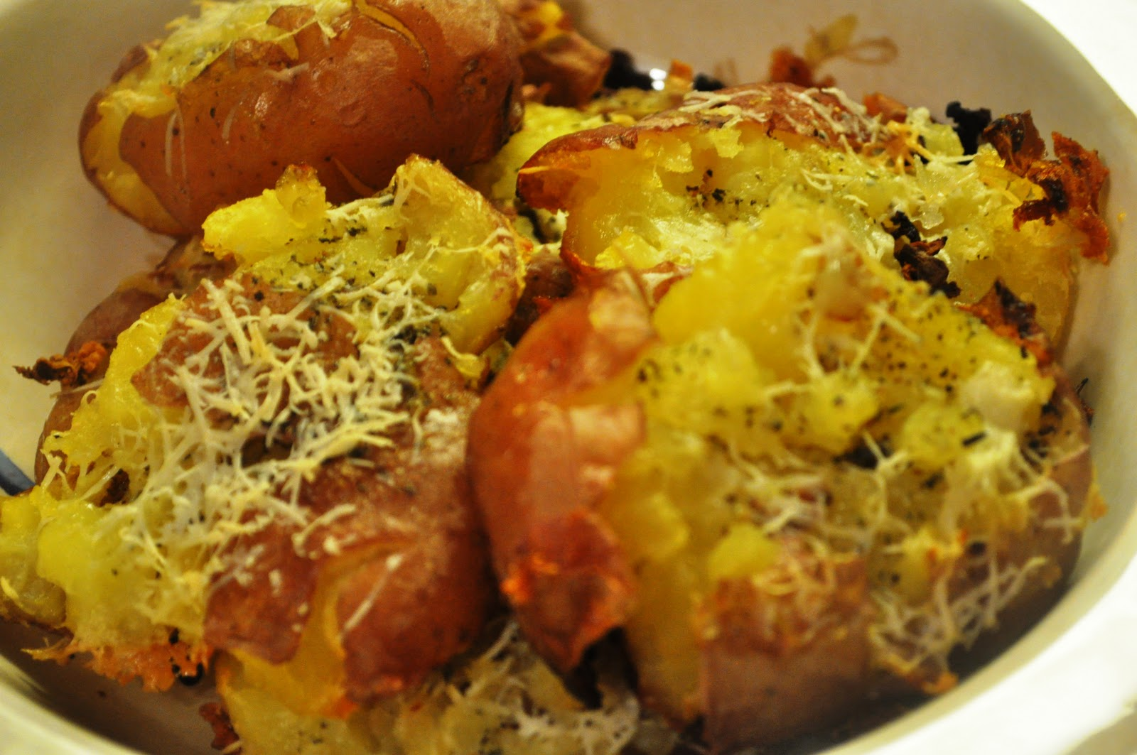 Kate's Kitchen: Smashed Grilled Potatoes