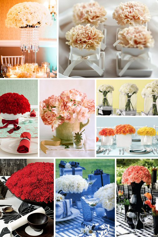 images of 1940 wedding centerpieces with candles