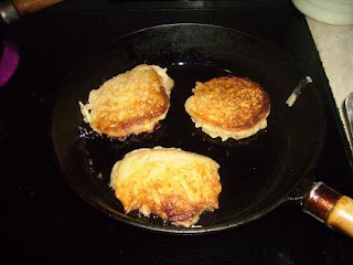 sourdough potato latkes