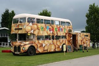 McCains potato bus