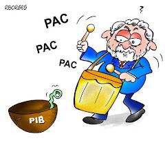 O PIB e o PAC