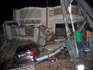 Gempa Bumi Sumatera Barat 7,6 SR  Kerusakan dan Korban