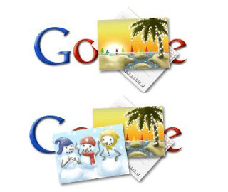 Google Holiday Logos