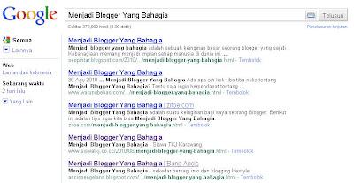 Menjadi Blogger Yang Bahagia