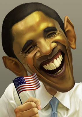 Karikatur Obama