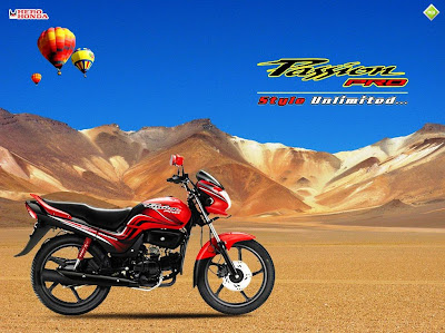 Hero Honda's New Passion pro