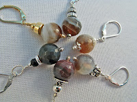 handmade jewelry,earrings,jewerly,gemstone,botswana agate,agate,custom jewelry,beadyize,etsy,jewellery