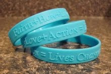 """Faith + Hope + Love + Action = Lives Changed"""