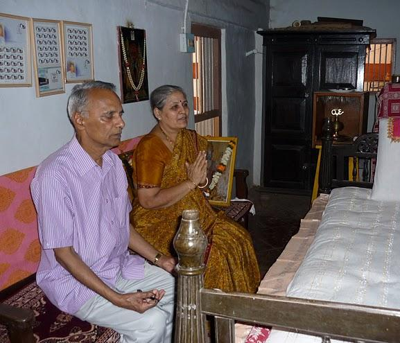 swami's abode for forty years