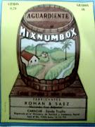 AGUARDIENTE MIXNUMBOX DE 13/6/1952