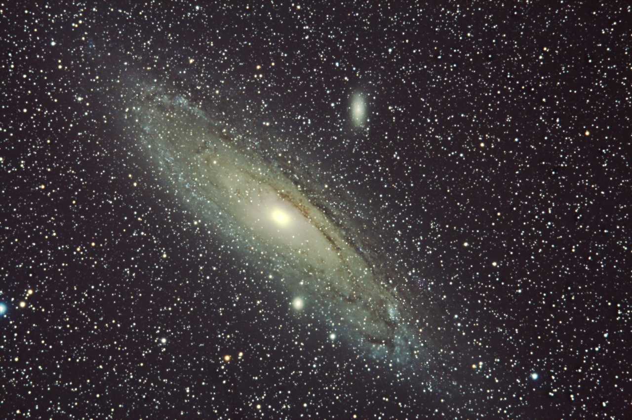 andromeda galaxy distance from - photo #28