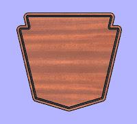 Plaque 3 CNC DXF