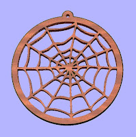 artwork for cnc plasma cutters and wood routers,Spider Web