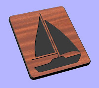 Sailboat CNC DXF