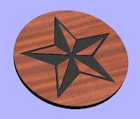 Star CNC DXF
