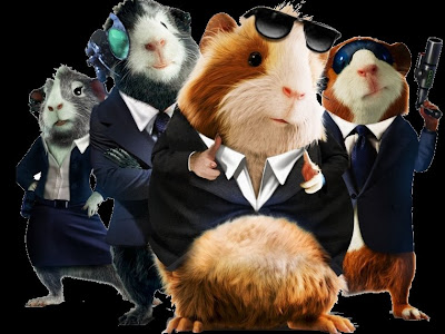 Guinea Pigs are infesting Walt Disney: shoot them those rats! - G-Force Movie
