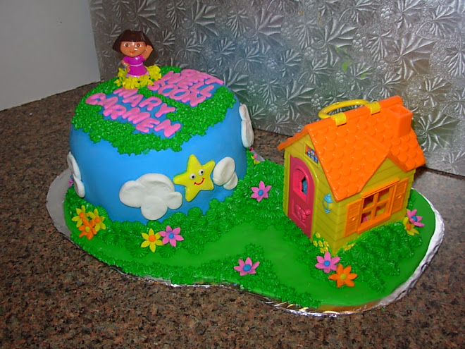 "Dora the Explorer ""Get Well Cake"""