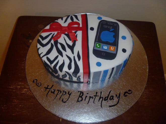 Wanda & Greg's Birthday cake