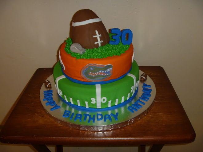 Gator Fan 30th Birthday Cake