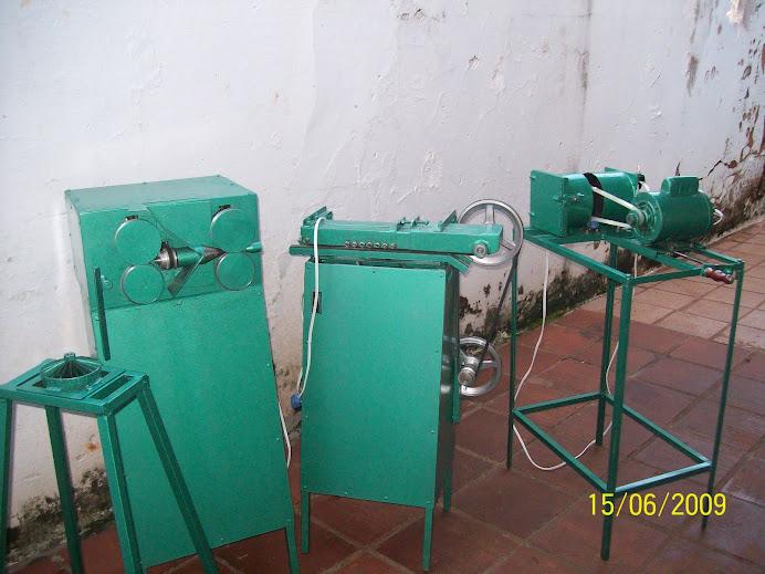 maquinas produzidas artezanalmente
