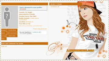 Friendster Themes