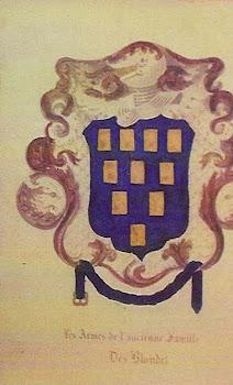 Blondel Family Crest