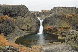 4. Þjórsárdalur - Gjáin
