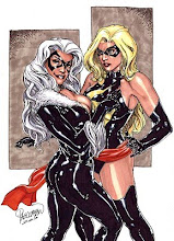 Ms Marvel & Black Cat