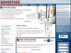 Bidvertiser New Web Site