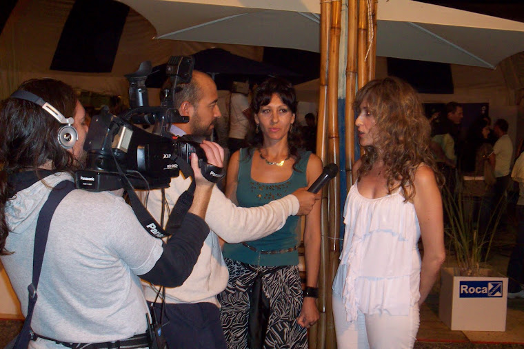 Entrevista previa a la actuación en la Fiesta Nacional de la Manzana 2010