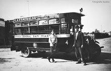 Los primeros colectivos - 1928