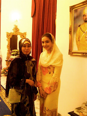HRH CHE PUAN TEMENGGONG AND ME