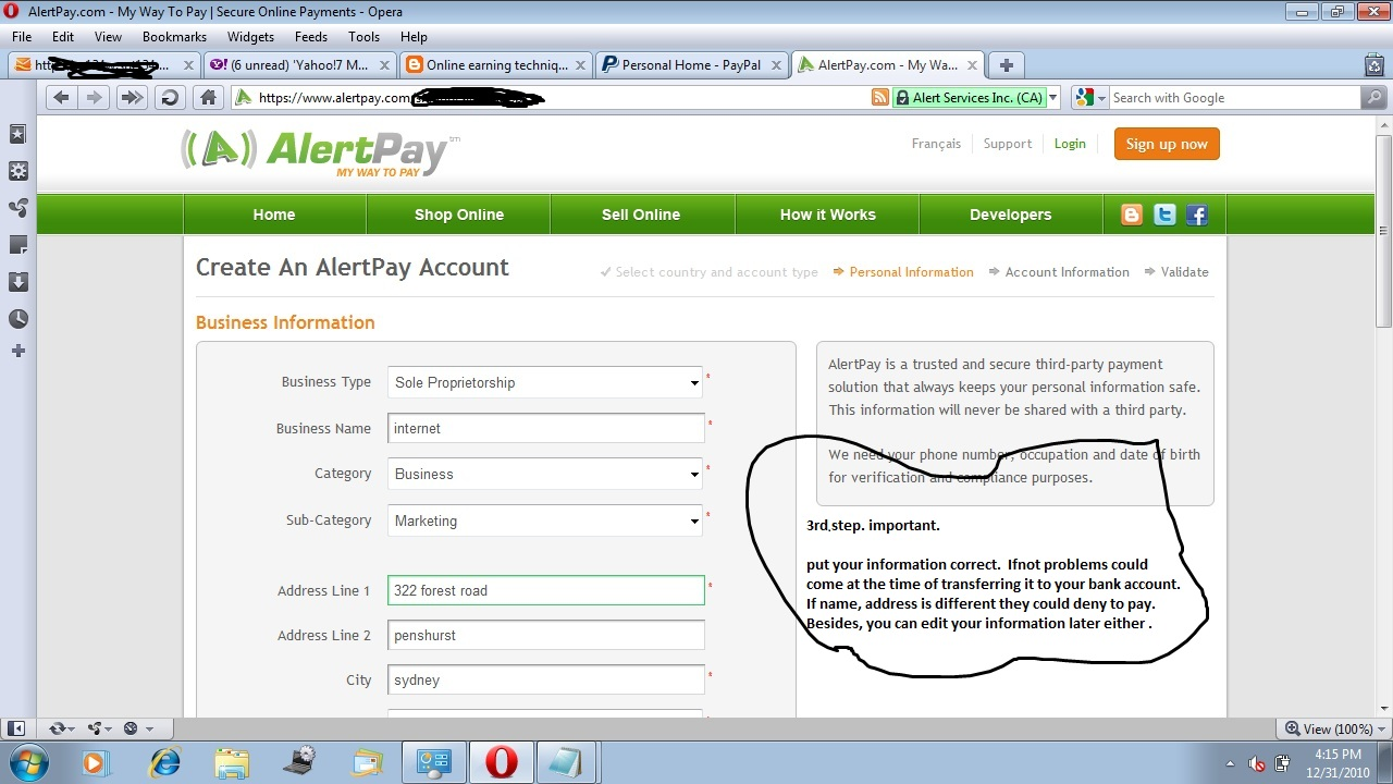 how to pay cpp and ei online