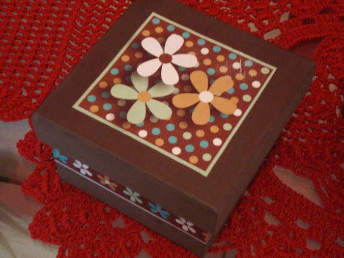 Caixinha de MDF para Chocolates