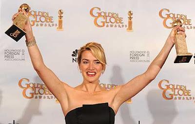Kate Winslet la gran triunfadora de los Globos de Oro