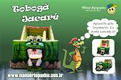 Tobogã Jacaré Inflável