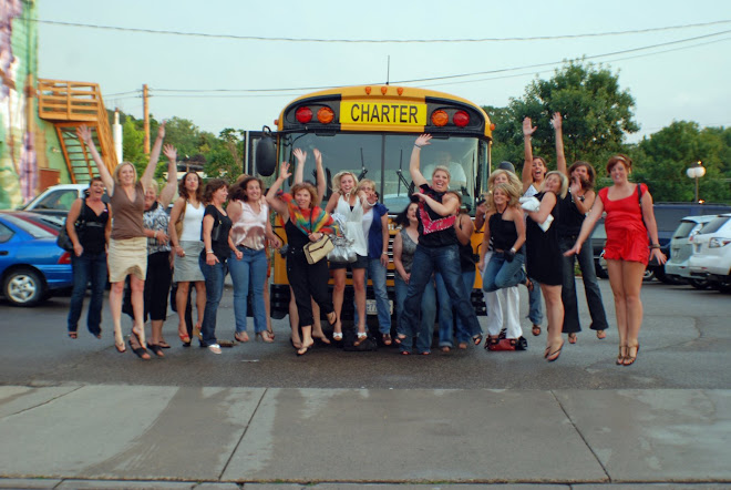 and a party bus