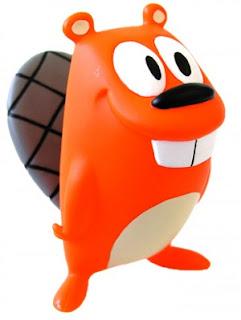 Castor Feliz, muñeco creado por diseñador de Pixar