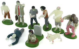 glow in the dark zombies by thinkgeek